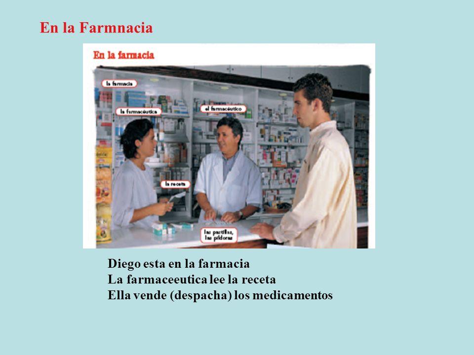 En la Farmnacia Diego esta en la farmacia