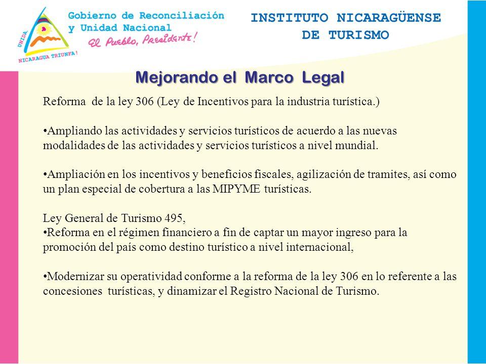 Mejorando el Marco Legal