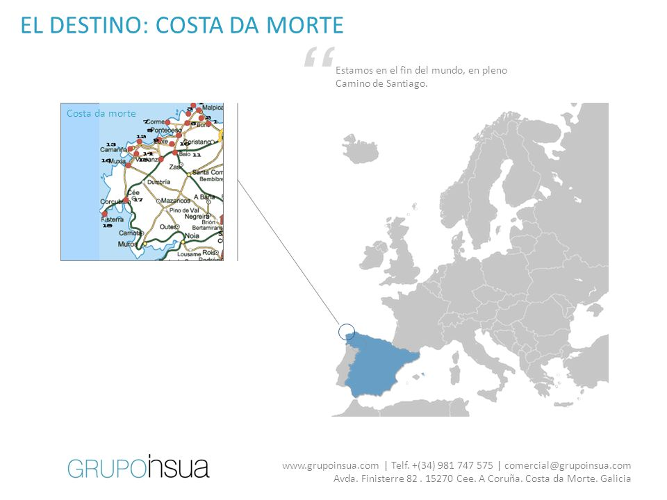 EL DESTINO: COSTA DA MORTE