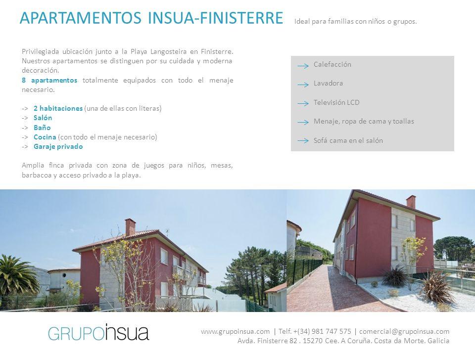 APARTAMENTOS INSUA-FINISTERRE
