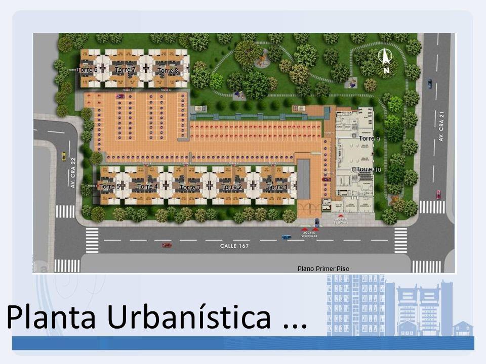 Planta Urbanística ... Torre 6 Torre 7 Torre 8 Torre 9 Torre 10