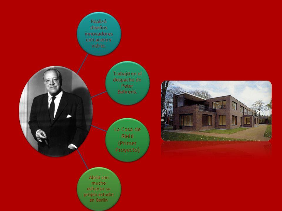 La Casa de Riehl (Primer Proyecto)
