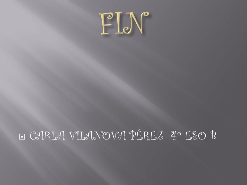 FIN CARLA VILANOVA PÉREZ 4º ESO B