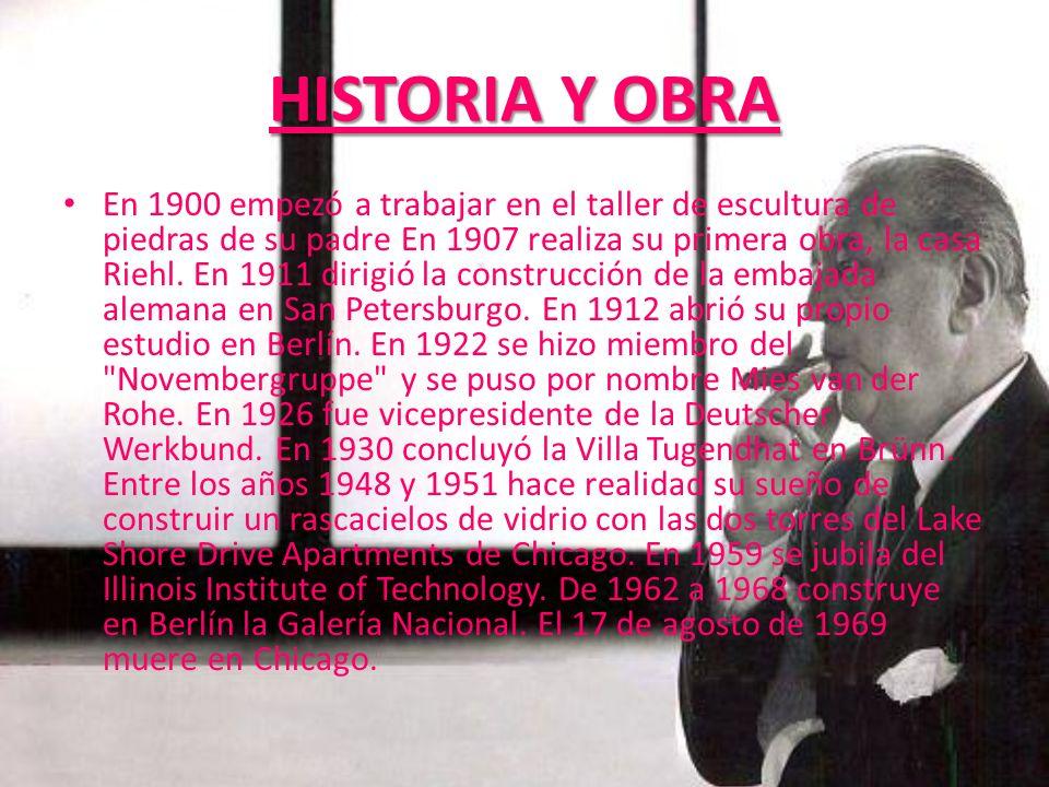 HISTORIA Y OBRA