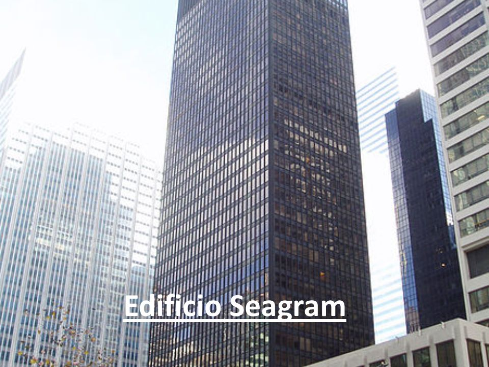 Edificio Seagram.