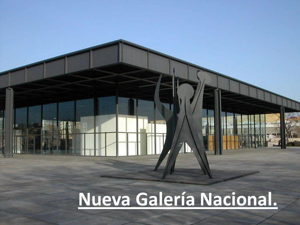 Nueva Galería Nacional.