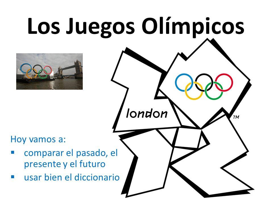 Los Juegos Olímpicos Hoy vamos a:
