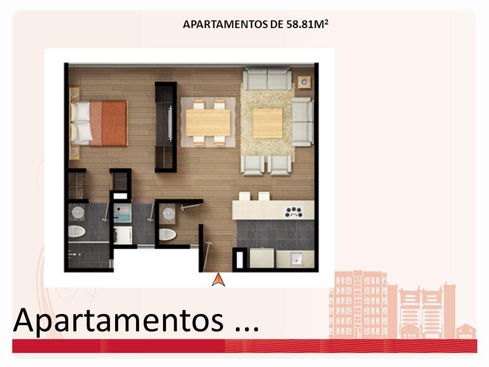 APARTAMENTOS DE 58.81M2 Apartamentos ...