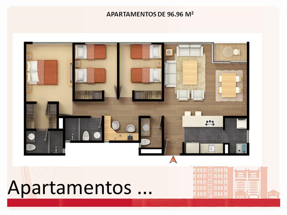 APARTAMENTOS DE 96.96 M2 Apartamentos ...