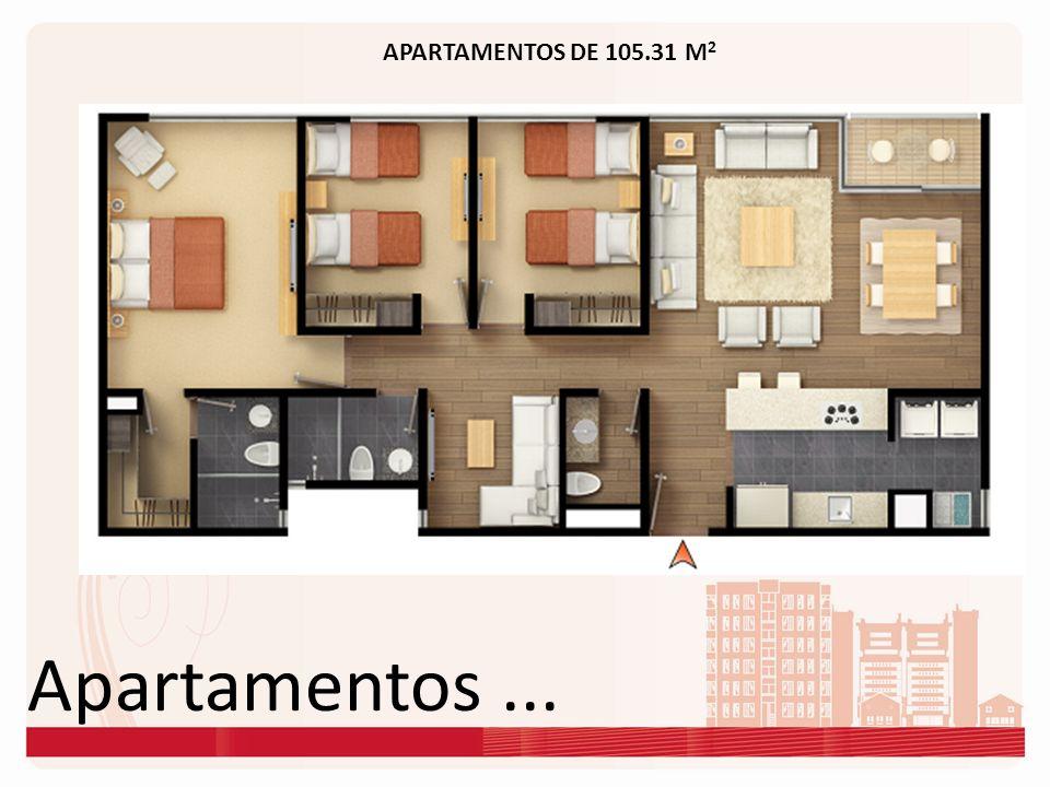 APARTAMENTOS DE 105.31 M2 Apartamentos ...