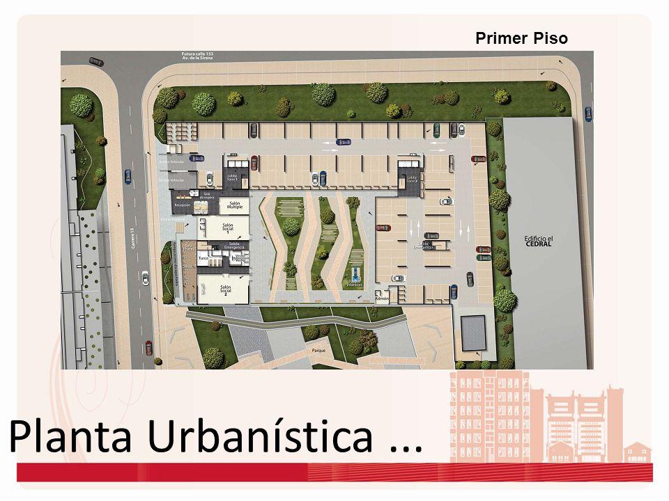 Primer Piso Planta Urbanística ...