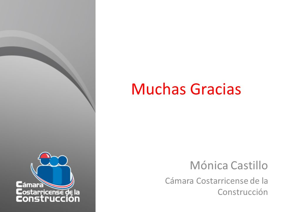 Mónica Castillo Cámara Costarricense de la Construcción