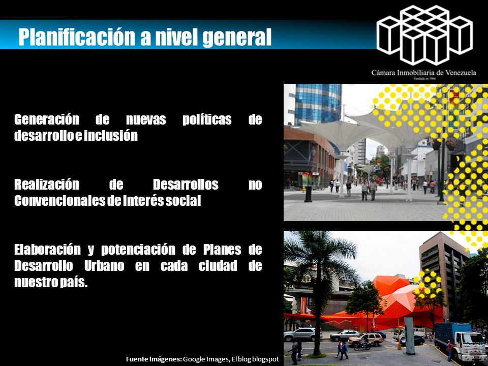 Planificación a nivel general
