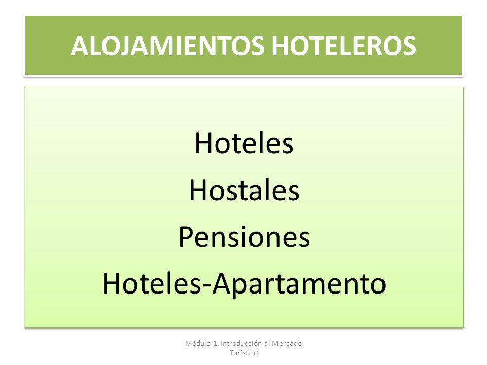 ALOJAMIENTOS HOTELEROS