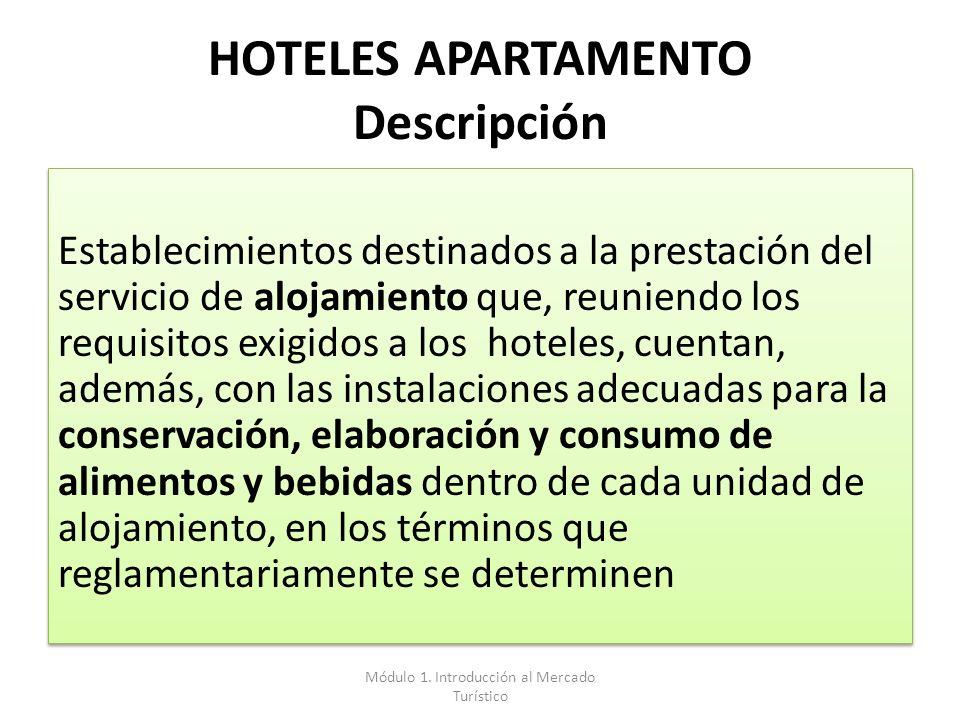 HOTELES APARTAMENTO Descripción