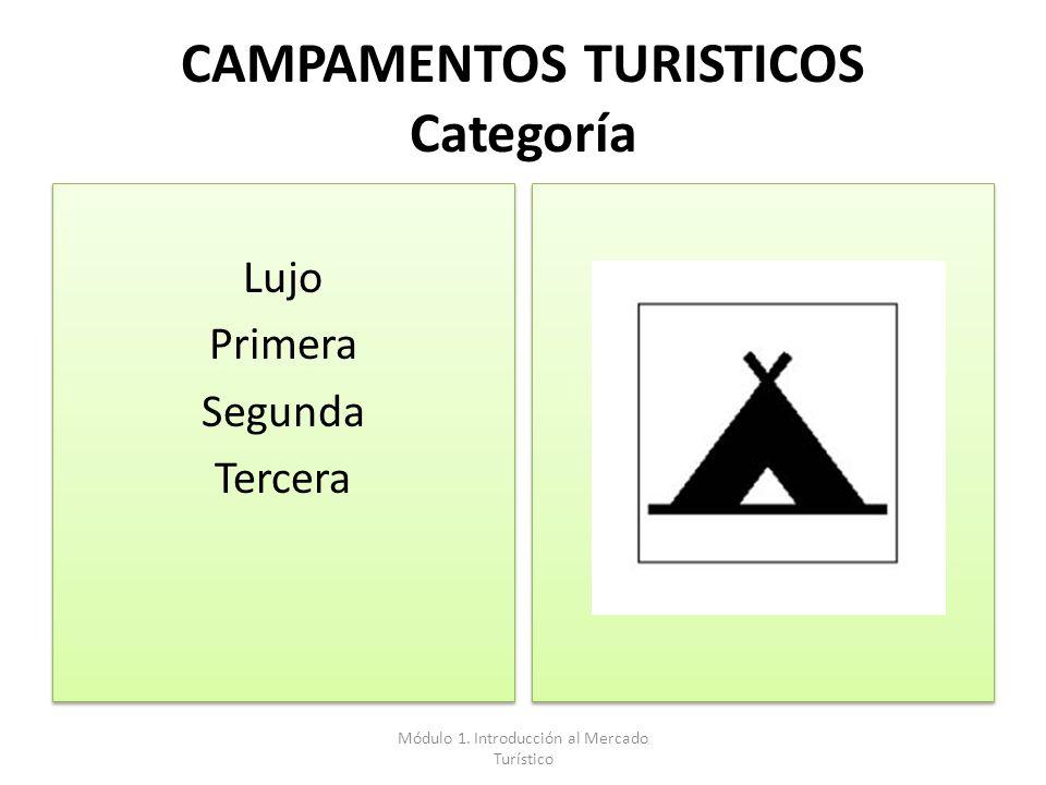 CAMPAMENTOS TURISTICOS Categoría