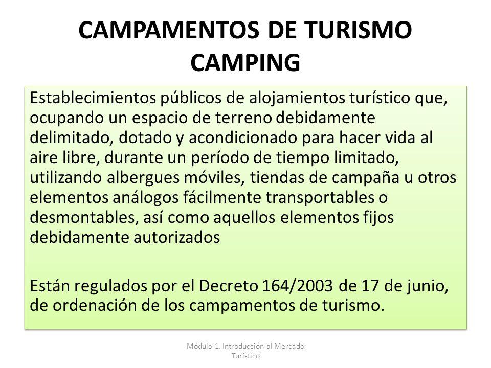 CAMPAMENTOS DE TURISMO CAMPING