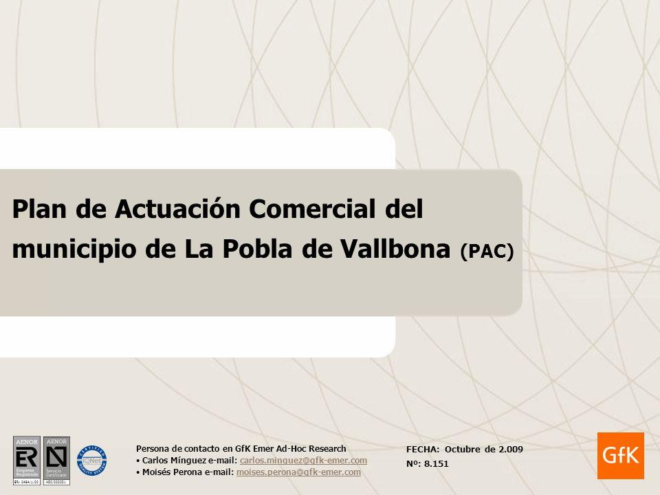 Plan de Actuación Comercial del municipio de La Pobla de Vallbona (PAC)