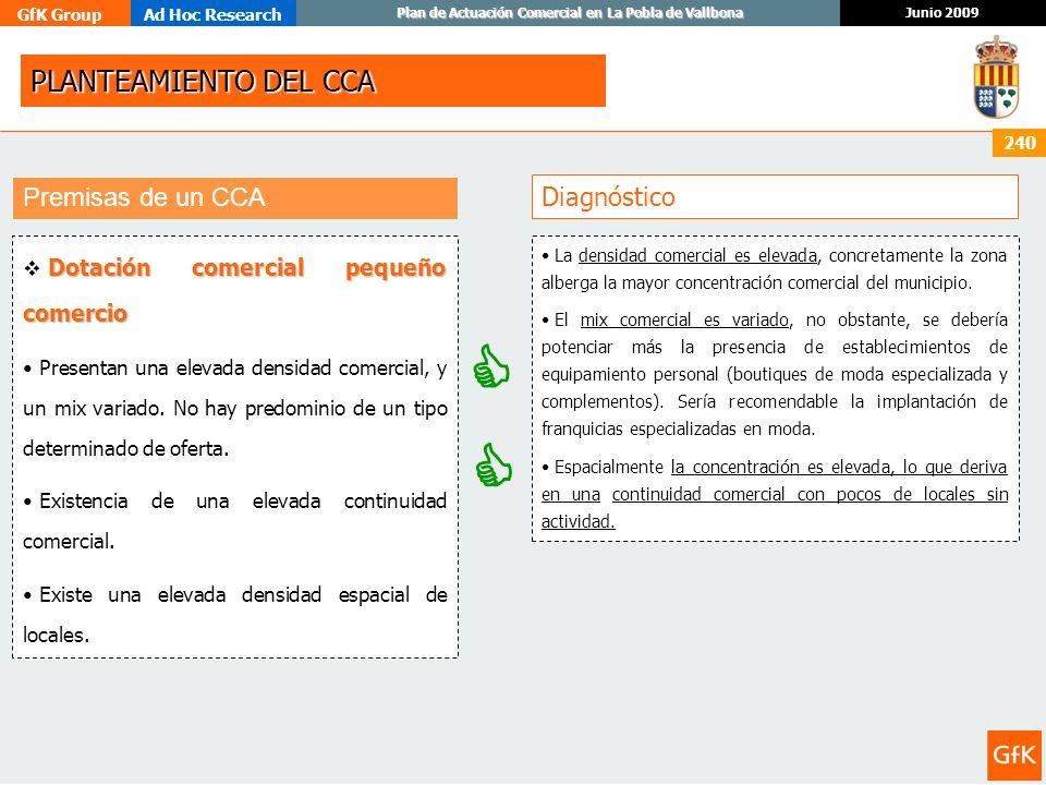   PLANTEAMIENTO DEL CCA Premisas de un CCA Diagnóstico