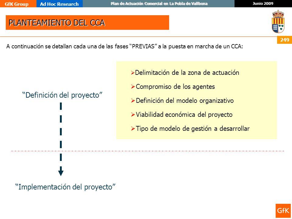 PLANTEAMIENTO DEL CCA Definición del proyecto