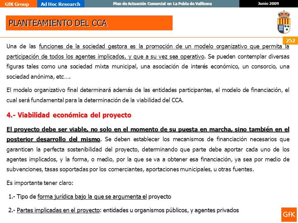 PLANTEAMIENTO DEL CCA 4.- Viabilidad económica del proyecto