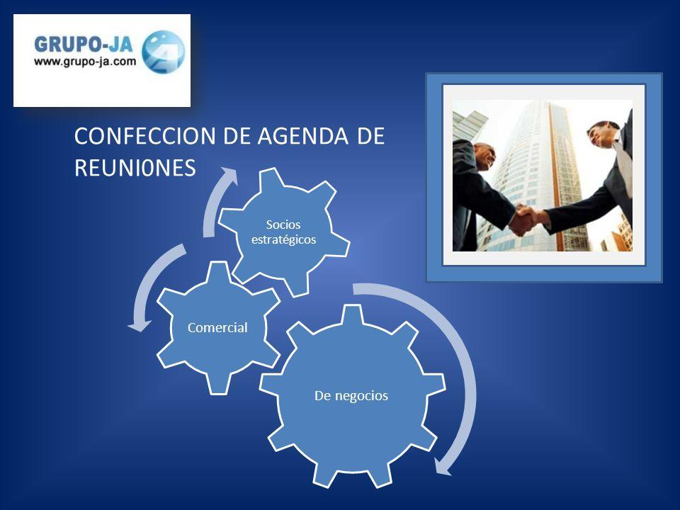 CONFECCION DE AGENDA DE REUNI0NES