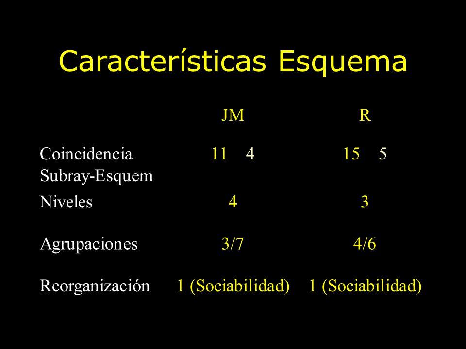 Características Esquema