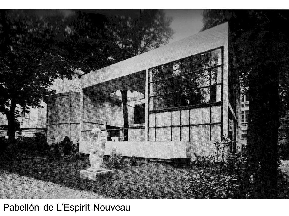 Pabellón de L'Espirit Nouveau