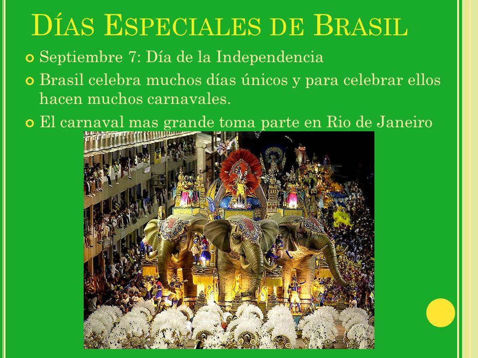 Días Especiales de Brasil