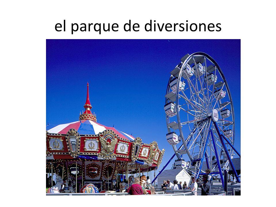el parque de diversiones