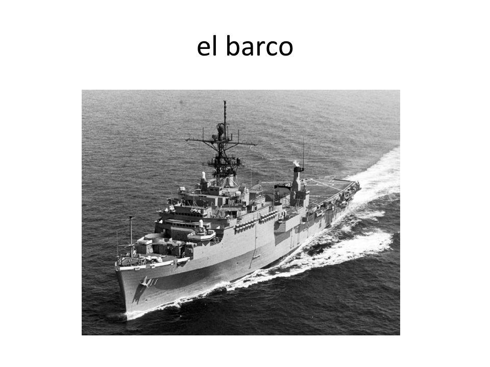 el barco