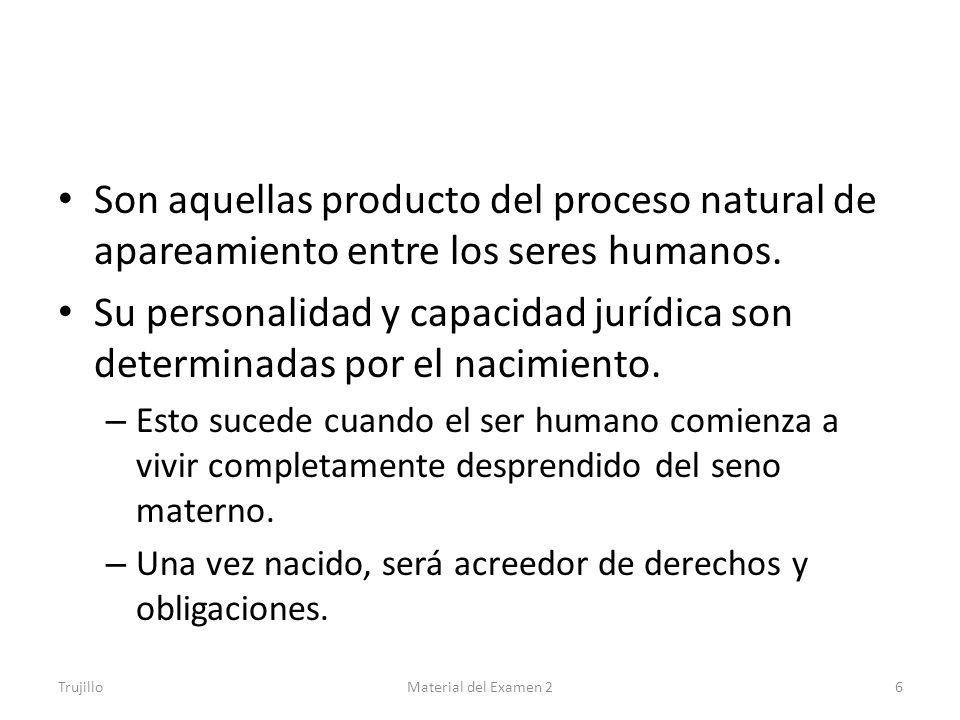 Son aquellas producto del proceso natural de apareamiento entre los seres humanos.