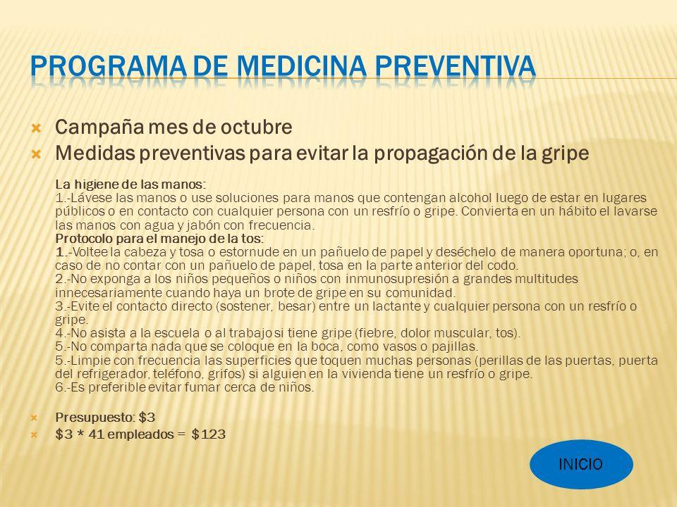 Programa de Medicina Preventiva