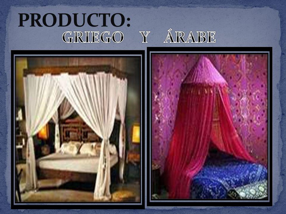 PRODUCTO: GRIEGO Y ÁRABE