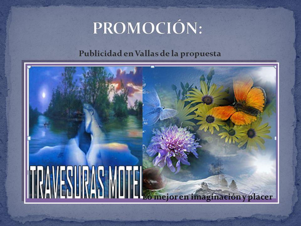 Publicidad en Vallas de la propuesta Lo mejor en imaginación y placer