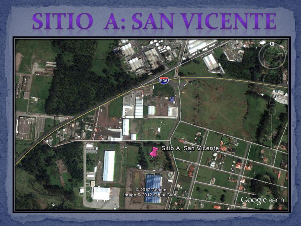 SITIO A: SAN VICENTE