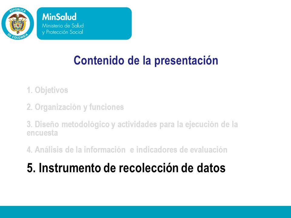 5. Instrumento de recolección de datos
