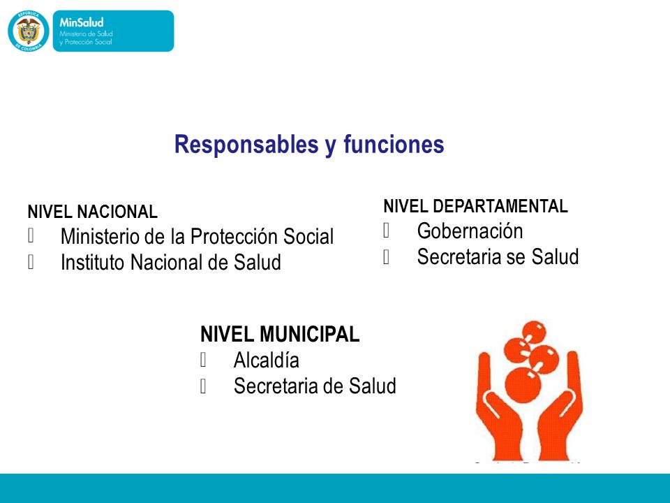 NIVEL MUNICIPAL NIVEL DEPARTAMENTAL NIVEL NACIONAL