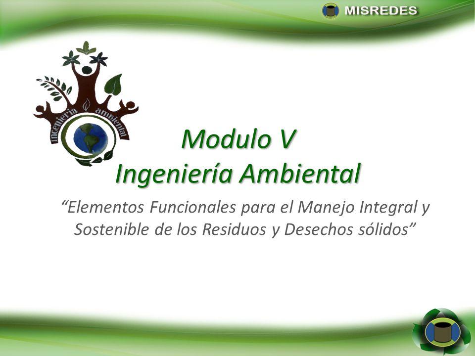 Modulo V Ingeniería Ambiental