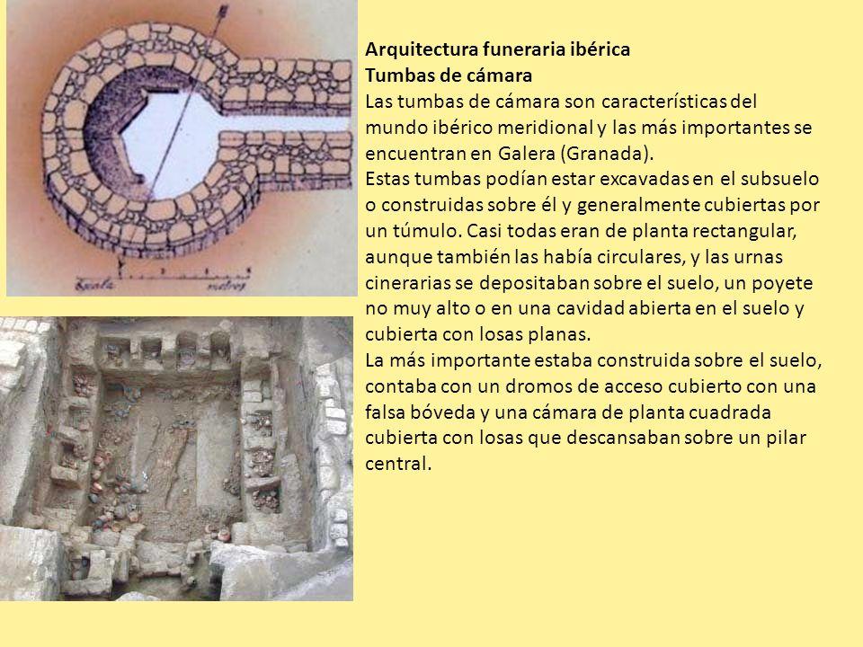 Arquitectura funeraria ibérica
