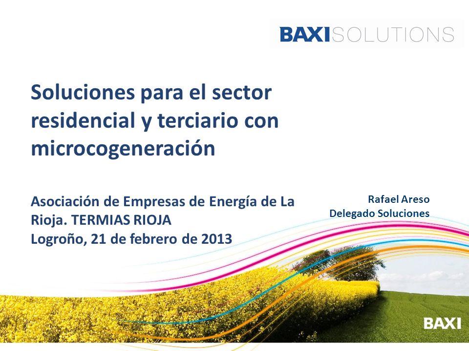 Soluciones para el sector residencial y terciario con microcogeneración