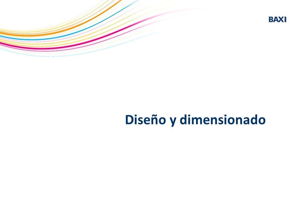 Diseño y dimensionado