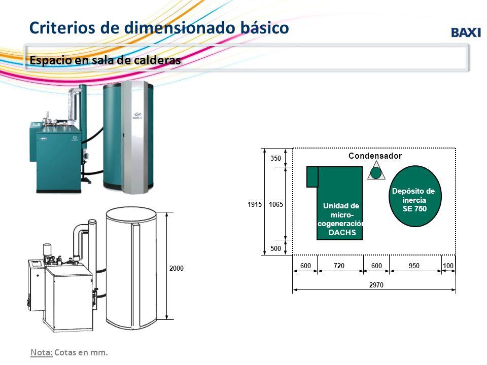 Unidad de micro- cogeneración DACHS