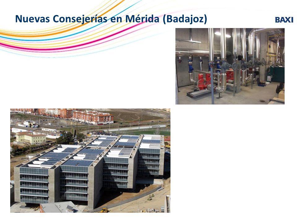 Nuevas Consejerías en Mérida (Badajoz)