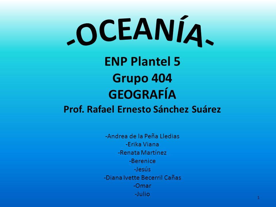 Prof. Rafael Ernesto Sánchez Suárez