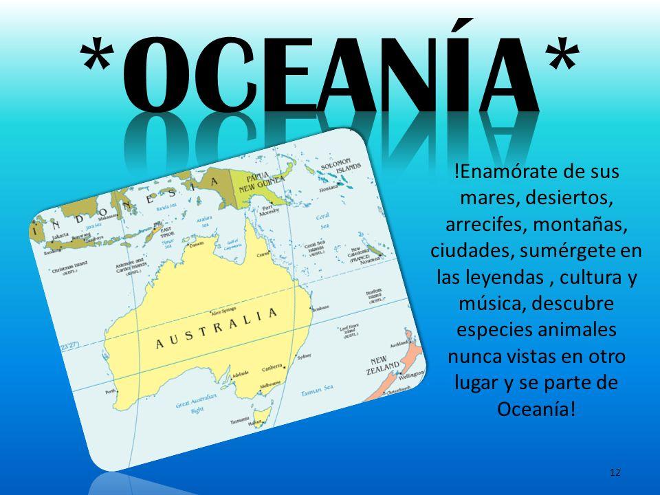 *OCEANÍA*