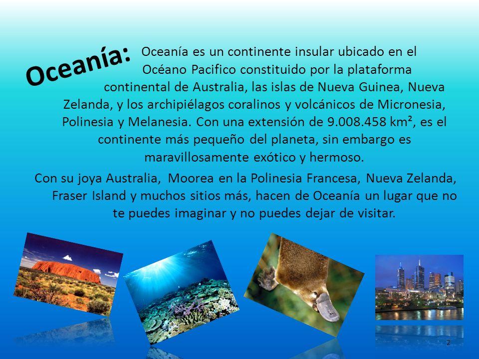 Oceanía: