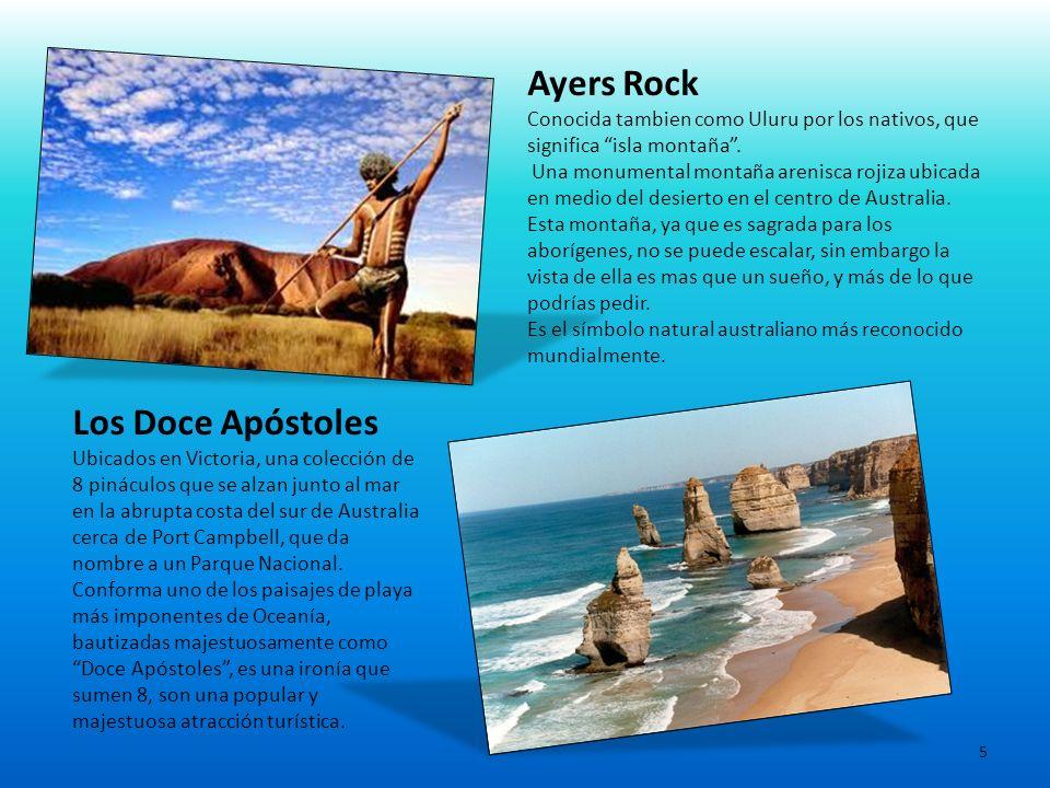 Ayers Rock Los Doce Apóstoles