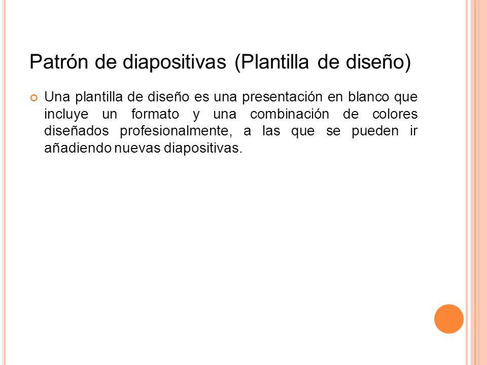 Patrón de diapositivas (Plantilla de diseño)