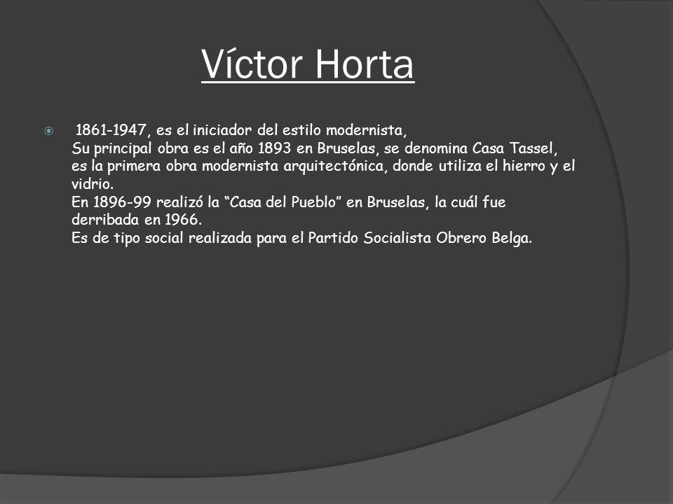 Víctor Horta